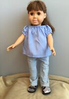 Doll Clothes - Blue Jeans with Blouse