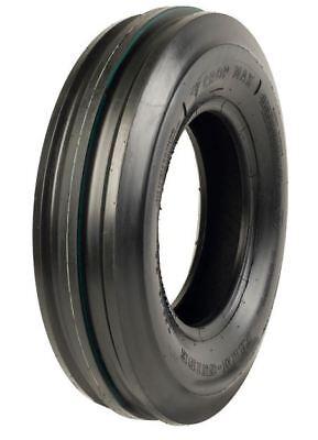 2 New Firestone 6.00-14 3-rib Front Tractor Tires Tubes Fits John Deere