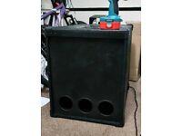 800w subwoofer bass bin sub speaker