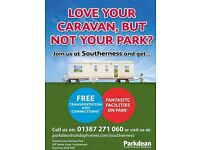 Join Us At Southerness Now -Scotlands Hidden Gem - Love Your Caravan - But Not Your Park Call Now