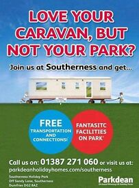 Want Your Caravan - But Not Your Park -Bring it to Southerness Now - Scotlands Hidden Gem - Call Now