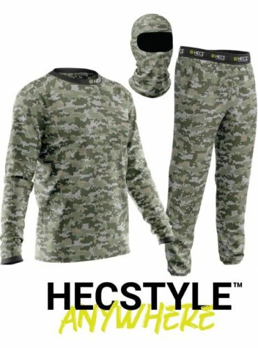 NEW Hecstyle Suit Deer Hunting Clothing-3 Piece Shirt, Pants, Headcover - Sm-5XL