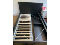 Ikea Malm double bed base with 4 drawers