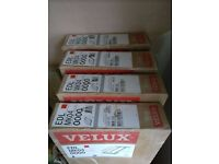 Velux Flashing Kits x 4 - EDL MK04 0000 (for slate roof) 78cms x 98cms