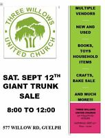Three Willows Giant Trunk Sale