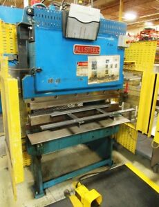 20 Ton x 4', Allsteel, Hydraulic Press Brake