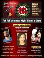 Yuk Yuks Comedy Night Dinner and Show