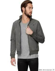 G-Star RAW - Nostra Vest LS Jacket - Raw Grey