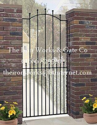 MANOR IRON METAL SINGLE GARDEN GATE 6ft TALL x 40