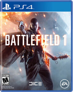 like new ps4 game battlefield 1