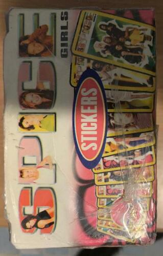 SEALED Box (QTY:200) Movie Gum Spice Girls Bubble Gum & Stickers