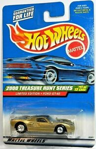 Hot Wheels 1/64 Ford GT-40 Treasure Hunt Diecast Car