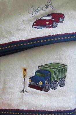 2Pc Saturday Knight Ltd  Transportation Bath   Hand Towel Set   New