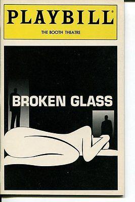 Ron Rifkin Amy Irving David Dukes Arthur Miller Broken Glass May 1994 Playbill