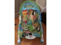 3 in 1 baby rocker/chair