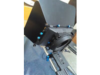 Matte box DSLR camera
