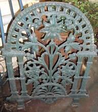 Vintage Cast Iron Fretwork / Plaque Dungog Dungog Area Preview