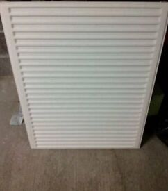 900mm x 700mm single panel, single convector radiator