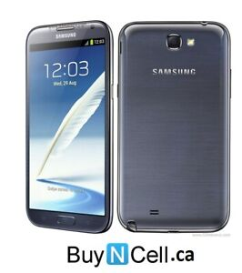 MINT   SAMSUNG GALAXY NOTE 2 UNLOCKED 3 MONTHS WARRANTY $149