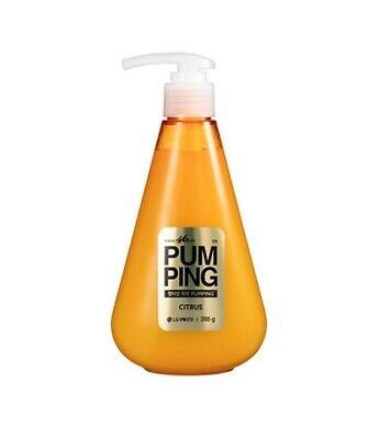 PERIOE 46cm Pump Bottle Gel Type Toothpaste 285g Citrus Red Orange -