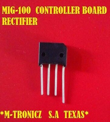 Chicago Electric Mig-100 Controller Board Upgrade Rectifier