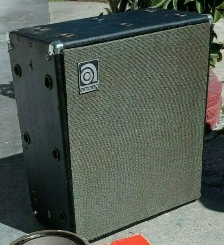 Vintage AMPEG V-4 Bass Speaker Cabinet (Empty / No Speakers) ORLANDO FL PIK-UP