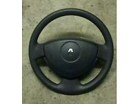 Renault Clio 01-06 Steering wheel with airbag