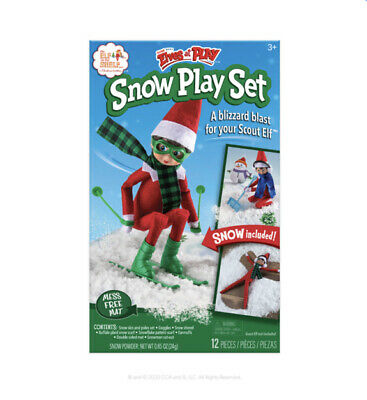 Elf on The Shelf elves at play - Snow Play Set - Doll Not Included