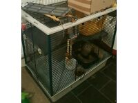 Ferret/Rabbit/Rat Cage double or single cage
