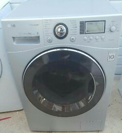 LG 9KG DIRECT DRIVE STEAM WASHING MACHINE IN EXCELLENT CONDITION