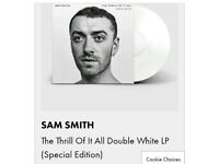 Sam Smith The thrill of it all special edition vinyl