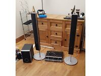 Surround Sound speaker system with DVD