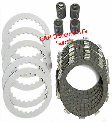 Clutch Friction Disks Plates Springs Rebuild Kit 1988-00 Honda TRX 300 Fourtrax Atv Clutch Friction Plates