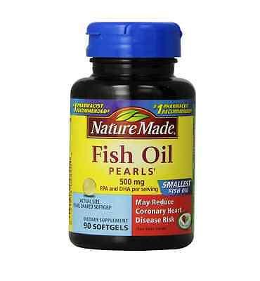 Nature Made Omega-3 Pearls 183 mg, Softgels 90 ea