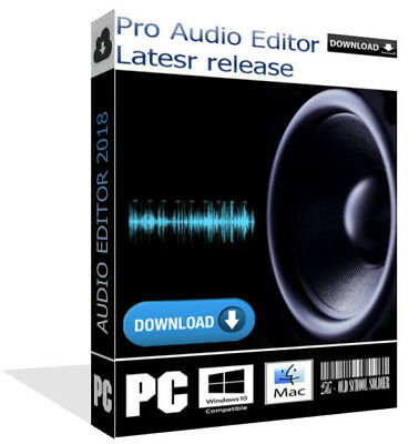 2018 Pro Music Audio Waw Mp3 Recorder Editor Converter Windows Pc Mac Download