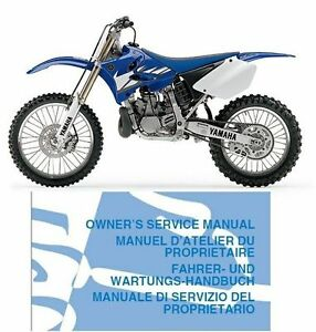 Yamaha yz250 manual ebay for Yamaha rx v1600 manual