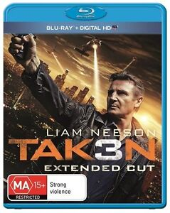Taken 3 (Liam Neeson) : NEW Blu-Ray