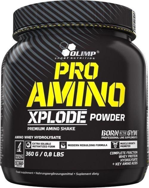 Pro Amino XPlode Pulver Olimp 2 x 360 g Schoko EUR8,40/100g + Hammer Gutschein +