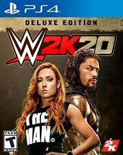 2K WWE 2K20 Deluxe Edition (PS4)