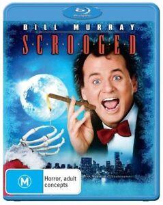 *Brand New & Sealed* Scrooged (Blu-ray, Classic Movie) Bill Murray