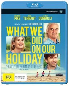 What We Did On Our Holiday : NEW Blu-Ray
