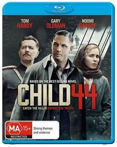 Brand New & Sealed - Child 44 (Blu-ray movie 2015) Tom Hardy, Noomi Rapace