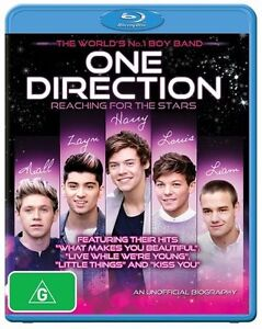 1D : One Direction : Reaching for the Stars : NEW Blu-Ray