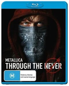 Metallica: Through the Never Blu-ray Discs NEW