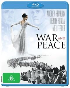 BRAND-NEW-amp-SEALED-War-And-Peace-AUDREY-HEPBURN-Blu-ray-2013-FREE-POSTAGE