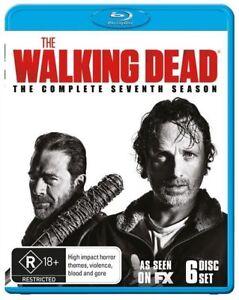 The Walking Dead : Season 7 (Blu-ray, 2017)