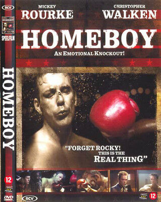 HOMEBOY - Mickey Rourke, Christopher Walken - DVD