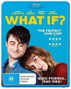 What If (Blu-ray, 2015) NEW (Aus Region)