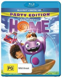 Home (Blu-ray) Party Edition - Childrens - Kids - Family - Animation