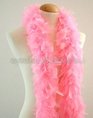 Candy Pink 45 Grams Chandelle Feather Boa Dance Party Halloween - Halloween Candy Grams